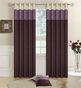 purple lilac cream faux silk three tone fully lined With lilac blackout curtains