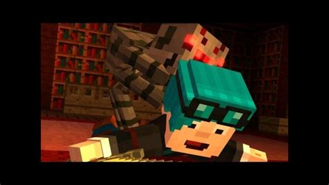 minecraft story mode   dans hair change color arqade