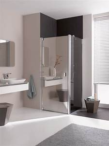 Spiegel Als Küchenrückwand : kermi douchewand van spiegelglas product in beeld ~ Michelbontemps.com Haus und Dekorationen