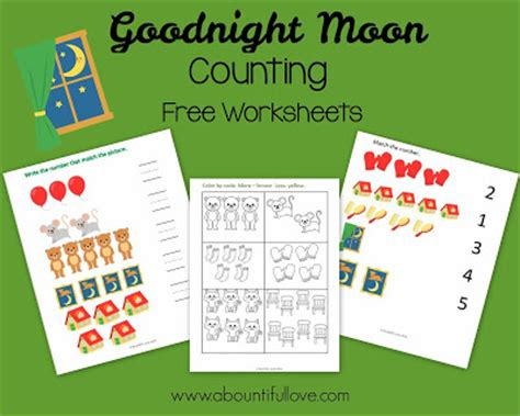 a bountiful goodnight moon free printable pack