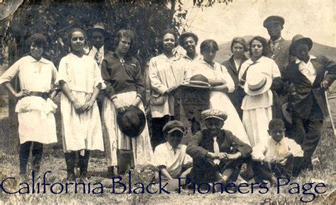 california black pioneers homepage