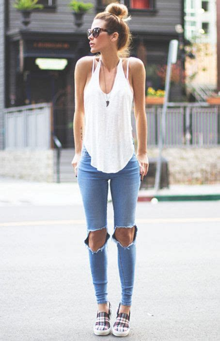 Summer Skinny jeans and Fashion trends on Pinterest