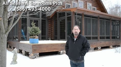sun room plans custom sunroom for log cabin home in algonac michigan by