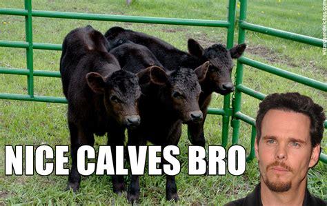 Calves Meme - johnny drama calves