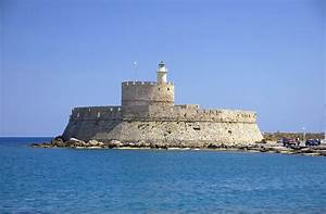 Fort Saint Nicolas In Rhodes  Greece Image - Free Stock Photo - Public Domain Photo