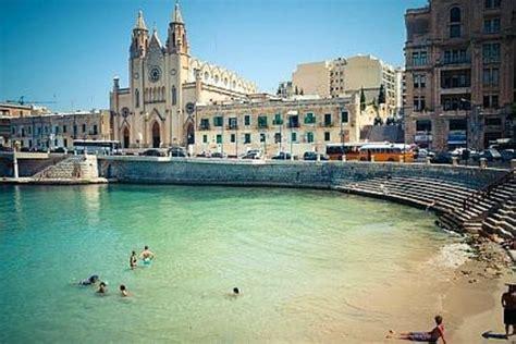 le meridien st julians bay malta and church near le meridean hotel malta picture of le meridien st julians julian