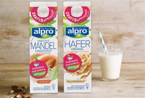 [[ Gratis ]] Alpro Milch Testen Und Geld Zurück Jetzt