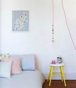 Neon Deco Chambre : chambre de b b pastel et n on dans la cabine ~ Melissatoandfro.com Idées de Décoration