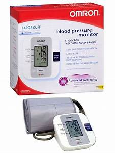 Large Cuff Upper Arm Digital Blood Pressure Monitor