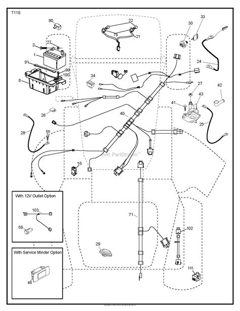 Husqvarna Lawn Mower Wiring Diagram by Husqvarna Yth2348 96045002500 2012 02 Parts Diagram