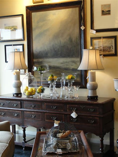 Decorating A Sideboard by Serve Up A Beautiful Buffet Nell
