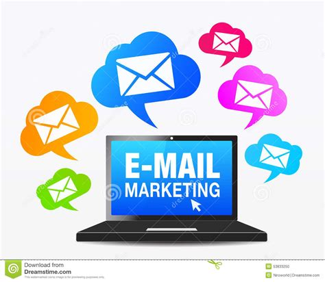 E Marketing Websites - web email marketing icons stock vector image 53833250