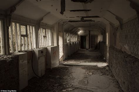 pictures  abandoned denbigh psychiatric hospital daily