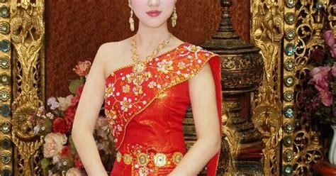Traditional Thai Wedding Peacock Dress