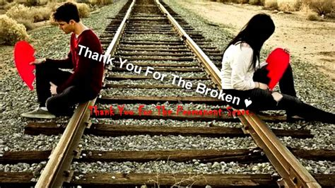 J.rice-thank You For The Broken Heart
