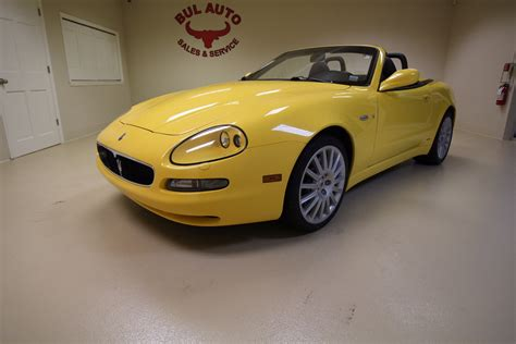 Maserati Ny by 2003 Maserati Spyder Cambiocorsa Stock 17202 For Sale