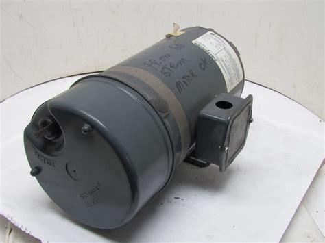 v brake bremsbeläge ge general electric 5k49un4208 3ph brake motor 1hp 1725 rpm 230 460v stearns ebay