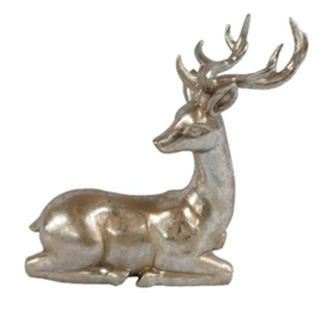 shop holiday living tabletop reindeer indoor christmas