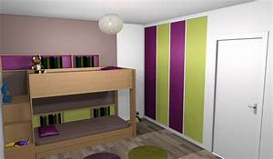 stunning peinture chambre mixte images amazing house With stickers chambre bebe mixte