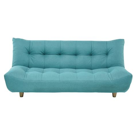canape clic clac but canapé clic clac convertible 3 places bleu turquoise cloud