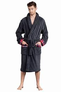 Bademantel Herren Xxl : envie herren bademantel saunamantel mit schalkragen polyes kariert in m l xl xxl ebay ~ A.2002-acura-tl-radio.info Haus und Dekorationen