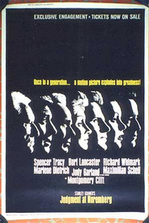 judgment  nuremberg  posters   poster
