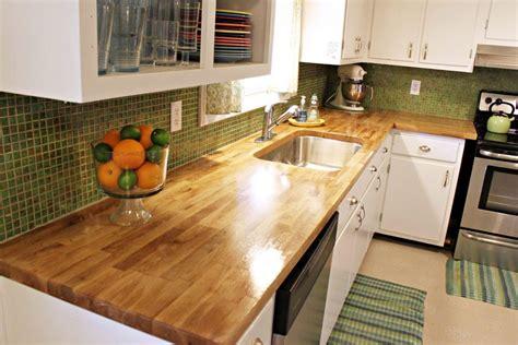 ikea countertops wood