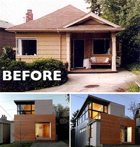 house renovation before and after house renovation ideas 16 inspirational before after residential projects contemporist
