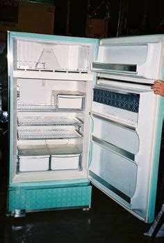 vintage  coolerator refrigerator vintage