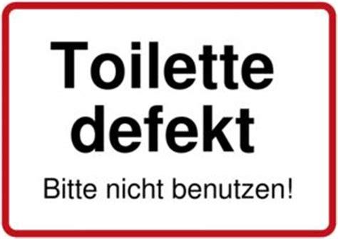 toilet with toilette defekt schild downloaden und drucken