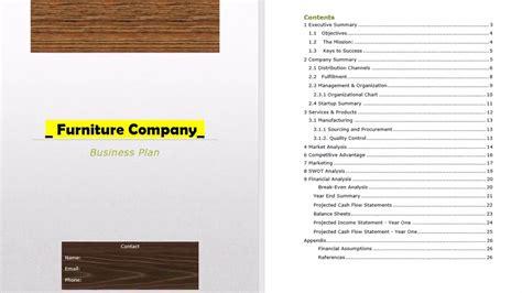 furniture design manufacturing business plan youtube