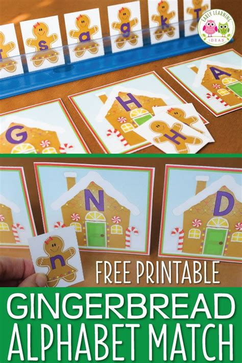 gingerbread printable alphabet activities for 742 | 58c3401bd32694c4d79f0bf10d3f18df