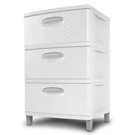 sterilite 4 drawer cabinet sterilite 3 weave drawer unit white walmart