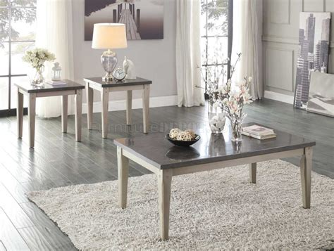 Rh members enjoy 25% savings and complimentary design services. Mendel 5280 Coffee Table 3Pc Set in Grey by Homelegance