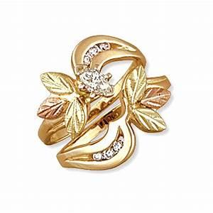 Landstrom's® 14K Black Hills Gold .37Tw Diamond Engagement ...
