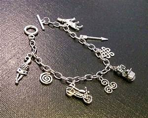 Teen Wolf inspired charm bracelet by Number12Creations on Etsy