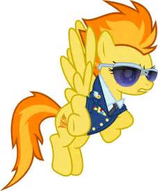 Spitfire My Little Pony Vector