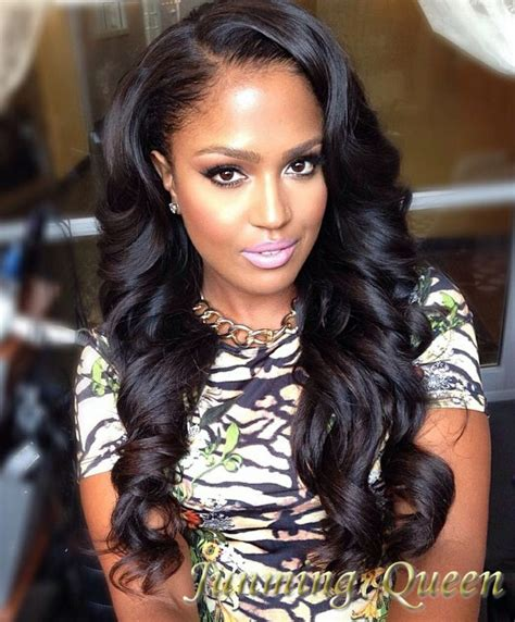 weave body wave hairstyles body wave sew in with middle part hair