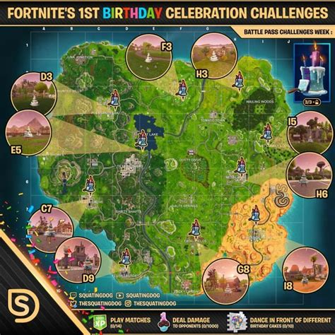 fortnite season  anniversary event challenge guide