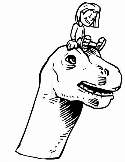 Dinosaur Coloring Pages Kid Head Dinosaurs Sitting
