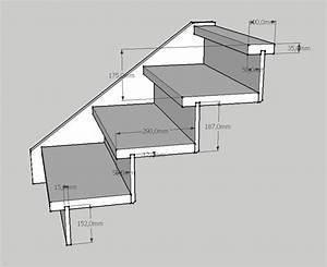 Hauteur Marche Escalier Extérieur : cr er un petit escalier en bois de 3 marches ~ Farleysfitness.com Idées de Décoration