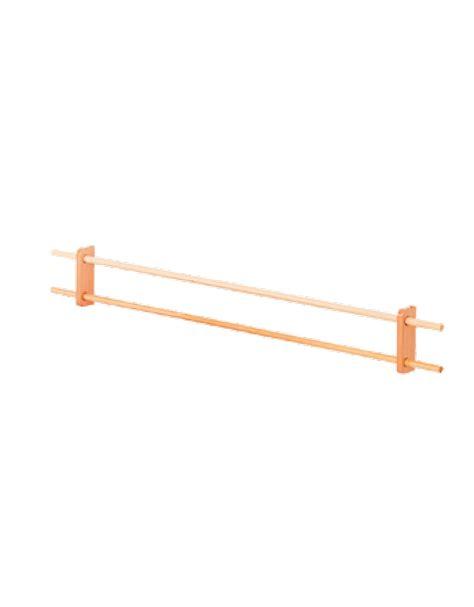 corrimano a muro corrimano a muro 2 prese legno cm 200 dinaforniture it
