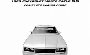 1995 Chevrolet Monte Carlo Ss Engine Compartment Wiring
