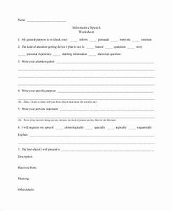 Parts Of A Persuasive Essay Free 8 Informative Speech Samples In Ms Word Pdf