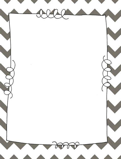 binder clipart black and white free chevron border clip 89