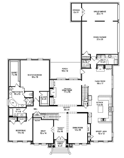 1 story 5 bedroom house plans 2018 house plans and home