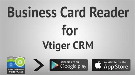 Business Card Reader For Vtiger Crm