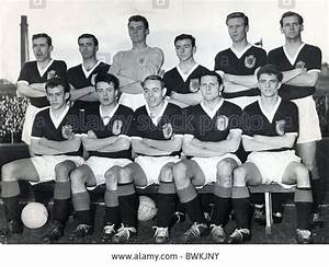 Scotland Football Team 1960 Back Row L-r: Duncan Mckay ...