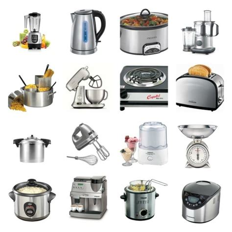 Kitchen Accessories With Names by Vocabulary To Describe Small Kitchen Appliances And