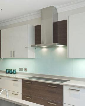 splashback tiles kitchen glass homes the blue glass kitchen splashback kitchen ideas 8190